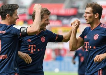Bayern have now won all their five games since the Bundesliga returned last month. (PHOTO/Courtesy)