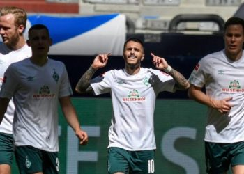 Bremen defeat Wolfsburg when the two sides first met this season. (PHOTO/Courtesy)