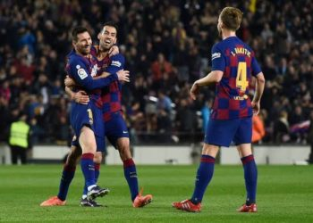 Barcelona sits two points clear at the top of La Liga. (PHOTO/Courtesy)