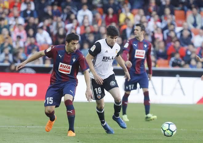 Valencia beat Eibar 1-0 when the two sides met earlier this season. (PHOTO/Courtesy)