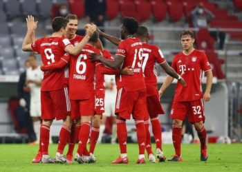 Bayern will be crowned 2019/20 Bundesliga champions with victory on Tuesday. (PHOTO/Courtesy)