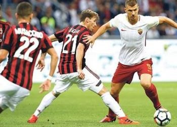 Roma defeated AC Milan earlier this season. (PHOTO/Courtesy)