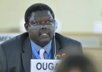 Uganda's Permanent representative to UN Christopher Aparr has died (PHOTO/File)