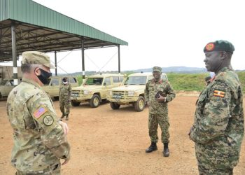 UPDF officiers