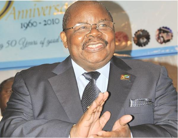 Benjamin William Mkapa is a Tanzanian politician who was the third President of Tanzania, in office from 1995 to 2005. He was also Chairman of the Revolutionary State Political Party