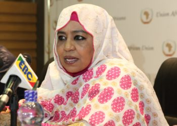 AU Commissioner for Social Affairs, Amira Elfadil (PHOTO/Courtesy).