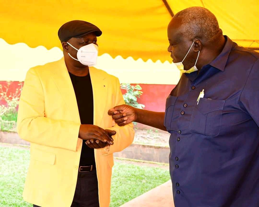 Deputy Speaker of Parliament Jacob Oulanya