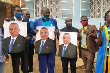 Lordmayor Erias Lukwago's supporters