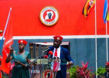 National Unity Platform (NUP) party headed by Robert Kyagulanyi aka Bobi Wine