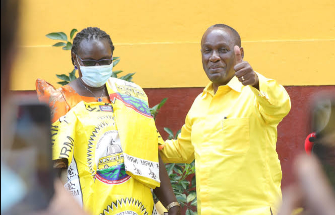 NRM vice chairperson for Eastern region, Capt.Mike Mukula