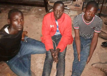 The arrested suspects (PHOTO/Police).