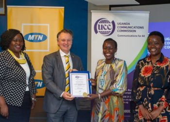 Ms Kaggwa Sewankambo congratulated MTN and the Government of Uganda on this milestone and expressed readiness to continue to work with the telecom operator to modernise the communications sector and to provide quality and affordable services to the people of Uganda (PHOTO/Courtesy)
