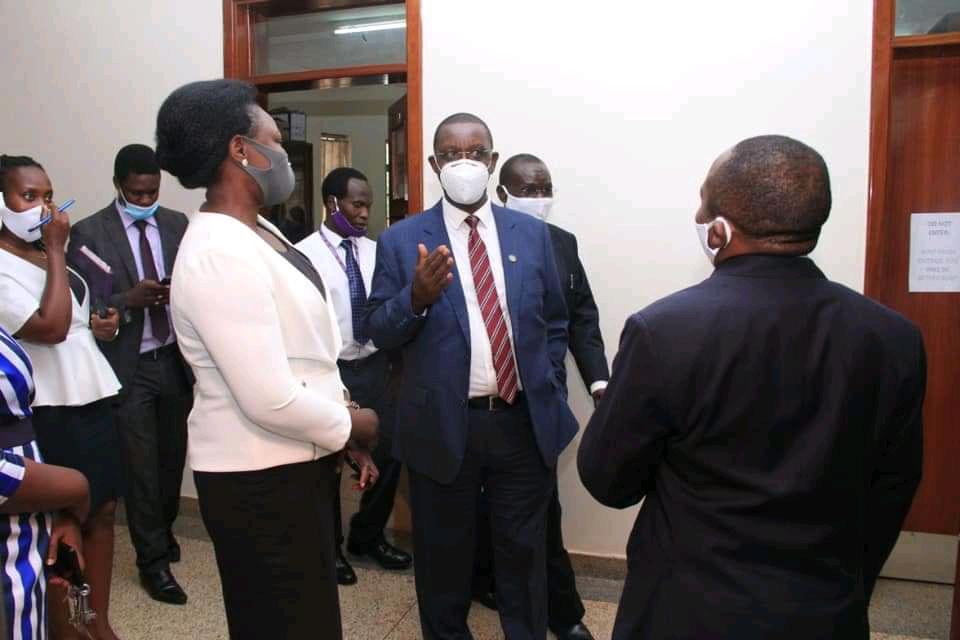 Secretary to Judiciary, Mr. Pius Bigirimana
