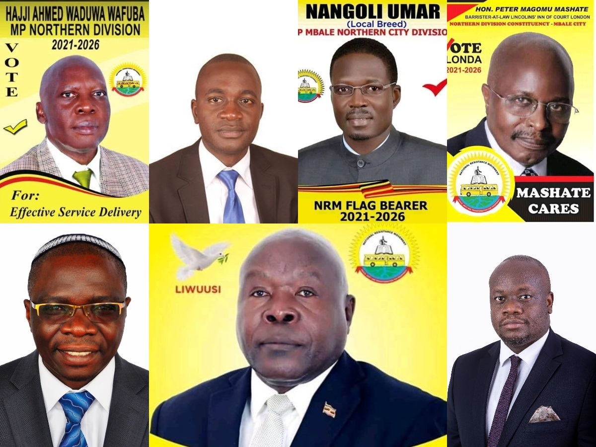 Mbale city parliamentary aspirants (PHOTO/Courtesy).
