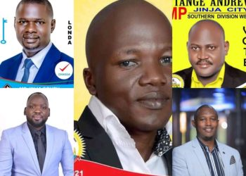 A collage photo of Jinja West Parliamentary aspirants (PHOTO/Courtesy).