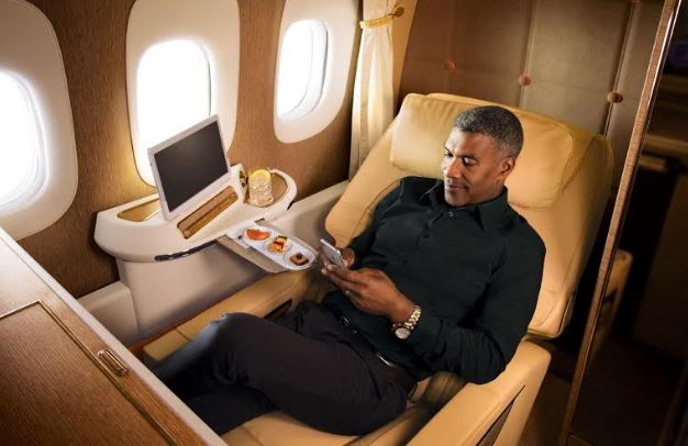 Emirates' unmatched First Class travel experience was given double honours at the  2020 Tripadvisor Travelers' Choice awards for Airlines, winning the World's Best First Class award as well as Middle East's Best Fi