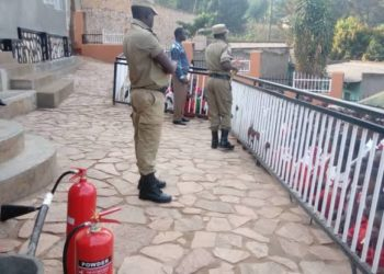 Century Bottling Company has hosted Uganda Police Fire Rescue Services Trainees at the Namanve Plant on a benchmarking visit for the security and safety teams to pick learnings from for use nationwide (PHOTO/Courtesy).