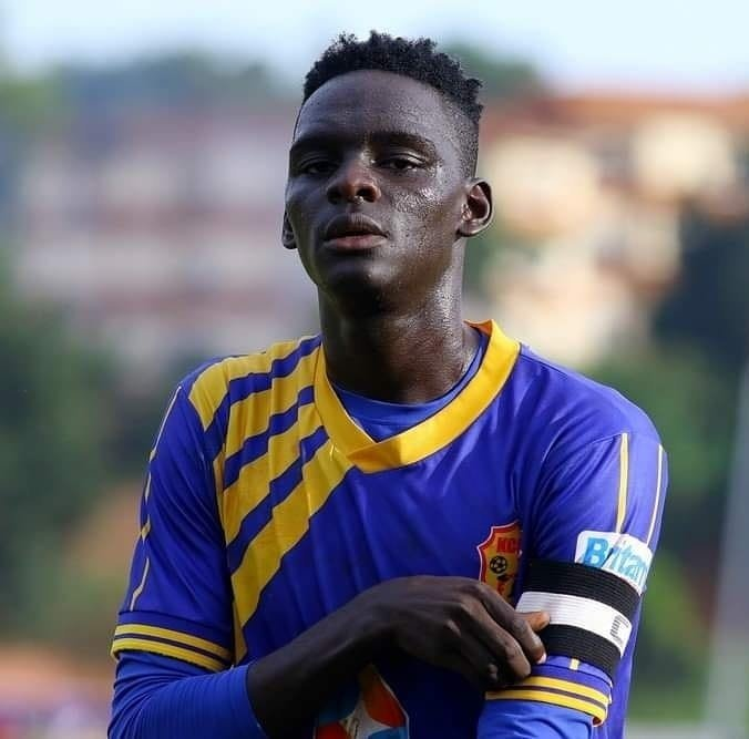 Mustafa Kizza has been at KCCA FC since 2017. (PHOTO/Courtesy)