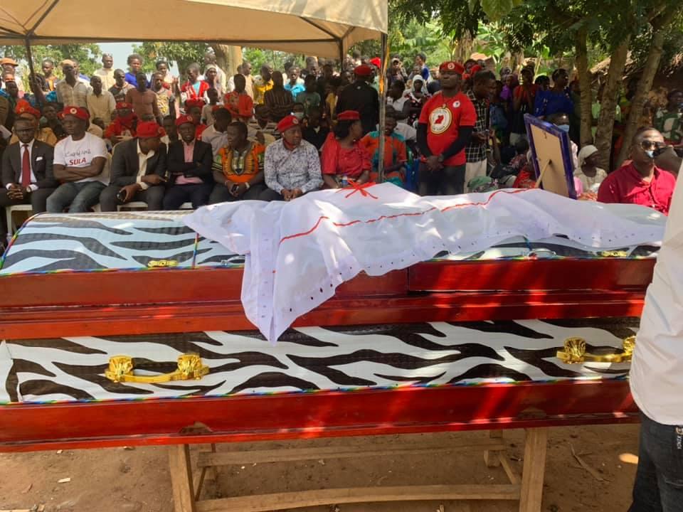 Burial of