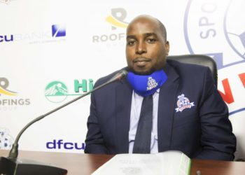 Vipers SC new CEO Simon Peter Njuba. (PHOTO/Vipers SC)