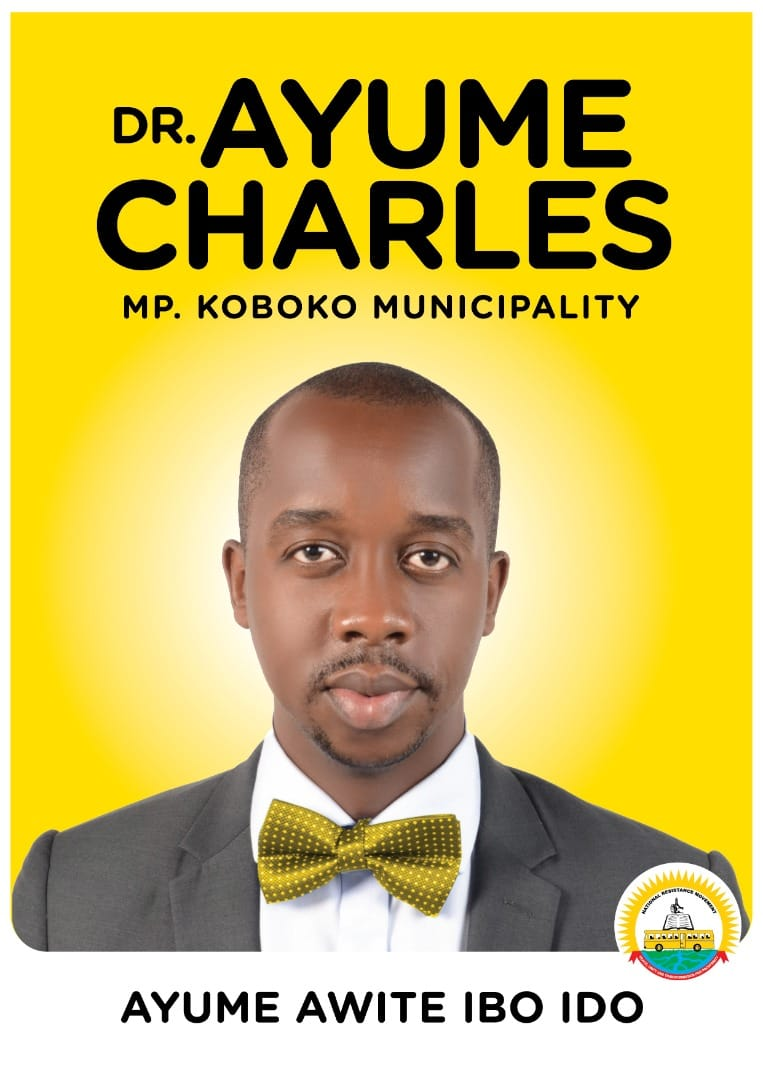 Dr Charles Ayume, an aspirant for the Koboko Municipality Parliamentary seat (PHOTO/Courtesy).