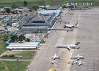 An aerial view of Entebbe International Airport (PHOTO/Courtesy).