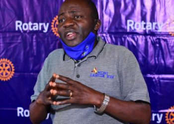 An exclusive Q & A of the Past District Governor (PDG) Rotary Uganda, Stephen Mwnaje highlighting the 9-year Journey of the Rotary Cancer Run, achievements, the money raised over the years, and what the proceeds are intended for (PHOTO/Courtesy).