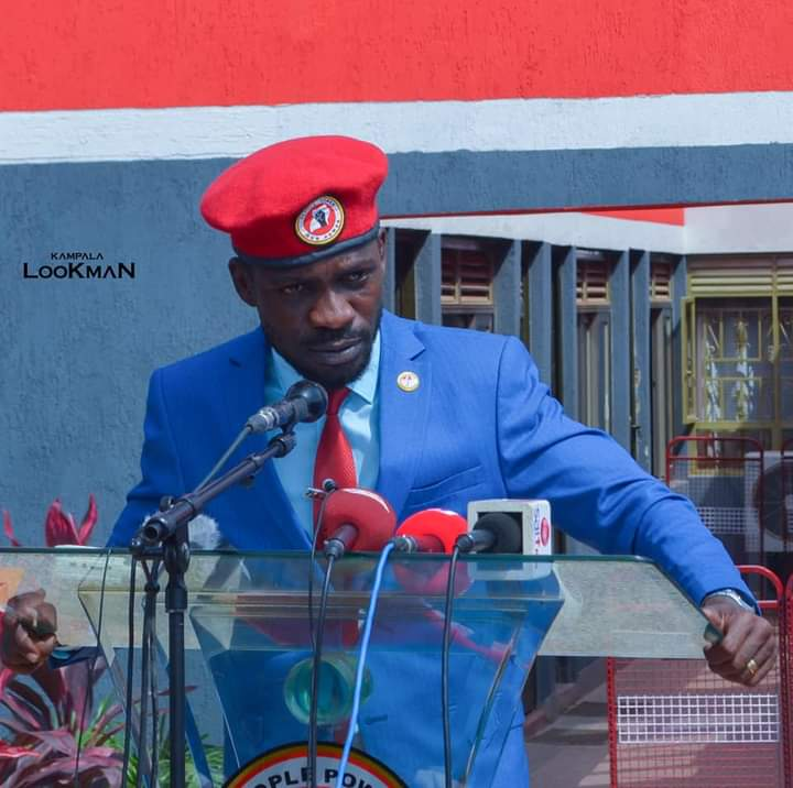 Bobi Wine had rejected new poll results (PHOTO/Courtesy).