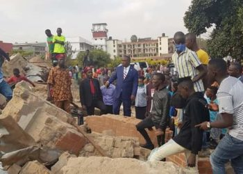 St. Peter's Church in Ndeeba has been demolished (PHOTO/Courtesy)