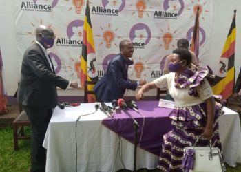The Alliance for National Transformation has unveiled Kasese Woman MP Winnie Kiiza as one of its members (PHOTO/Courtesy)