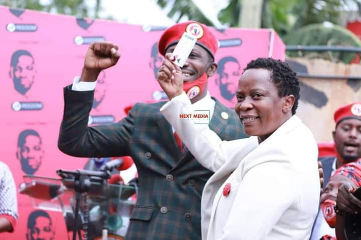Mukono Municipality MP Betty Nambooze has quit Democratic Party to NUP (PHOTO/Next Media Services)
