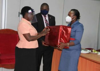 HW Sarah Langa (R), the new Chief Registrar (PHOTO/Courtesy).