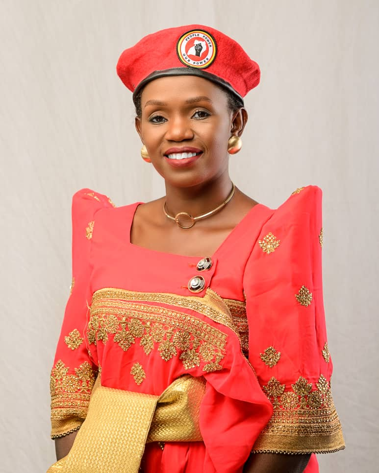 Agnes Namaganda is sure to go for the People Power/NUP ticket for Kampala Woman MP (PHOTO/Courtesy).