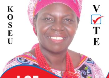 Florence Akello Okae contesting for LC 5 Woman Councilor, Awaliwal Sub-county