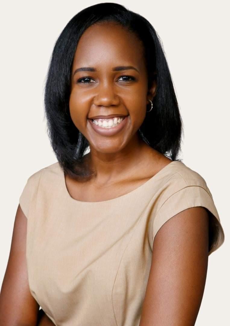 Ms Angella Kasekende eyeing the
