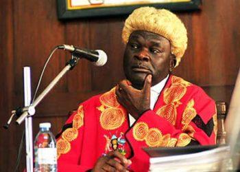 Justice Owiny-Dollo, Uganda's Chief Justice (PHOTO/File).