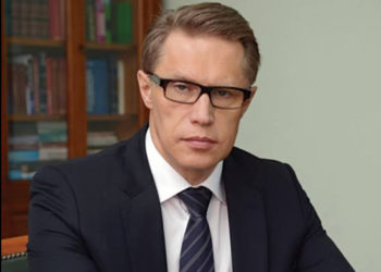 Russian Health Minister Mikhail Murashko (PHOTO/Courtesy).