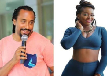 Singers Daniel Kigozi alias Navio and Winnie Nwagi (PHOTO/File).