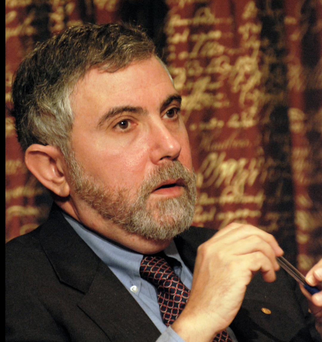 Paul Robin Krugman is an American economist who is the Distinguished Professor of Economics at the Graduate Center of the City University of New York, and a columnist for The New York Times (PHOTO/File).