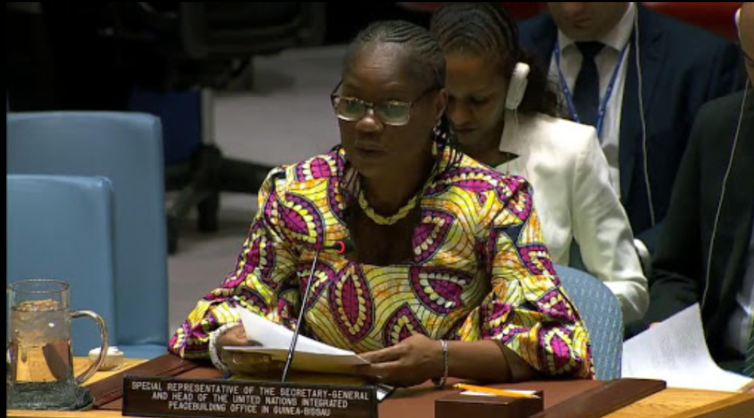 Rosine Sori-Coulibaly, the UN secretary-general's special representative and head of the UN Integrated Peacebuilding Office in Guinea-Bissau (PHOTO/Courtesy).