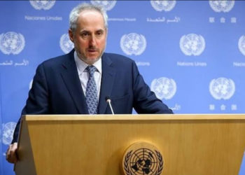 Stephane Dujarric, spokesman for UN Secretary-General Antonio Guterres (PHOTO/File).