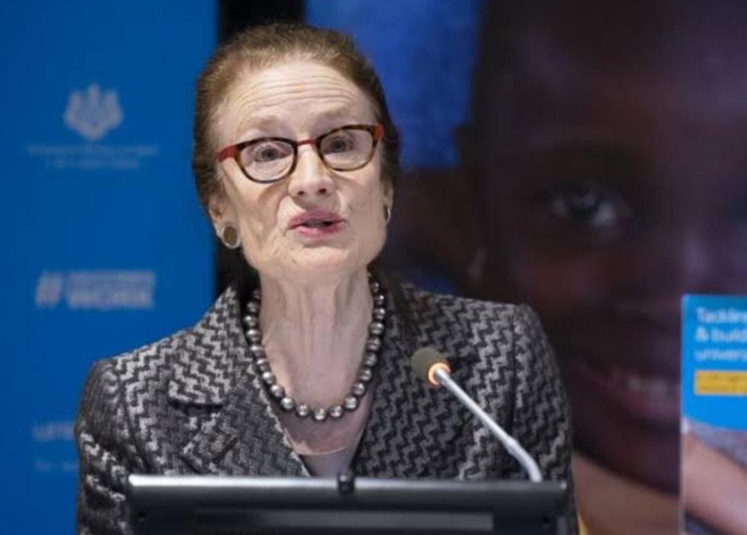Henrietta Fore, UNICEF Executive Director (PHOTO/File).