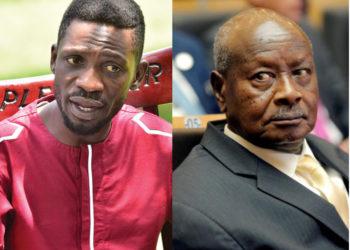 Bobi Wine and Museveni