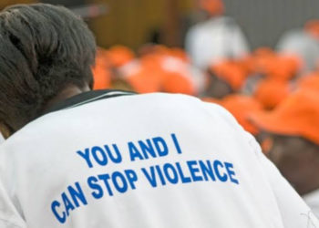 A call to stop domestic violence in Uganda (PHOTO/Courtesy).