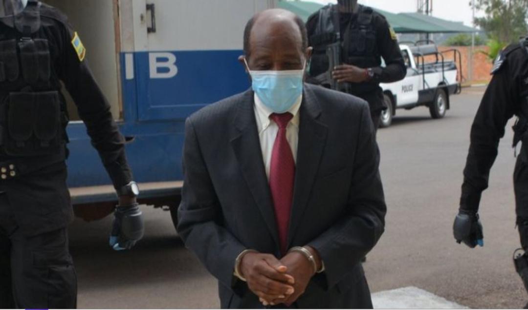 The arrested Paul Rusesabagina (PHOTO/Courtesy).