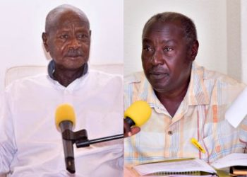 President Museveni and Al-Hajji Moses Kigongo respectively (PHOTO/File).