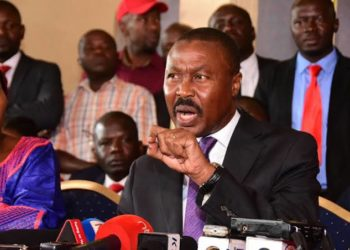 Gen Mugisha Muntu the national coordinator for ANT (PHOTO/File)