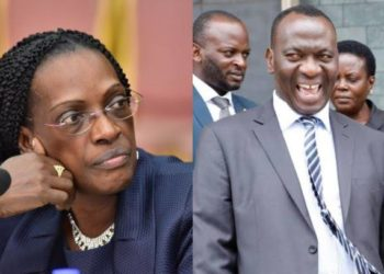 Former BoU Director for Supervision Justine Bagyenda and Mr Benedict Ssekabira, the director of Financial Markets Development Coordination face arrest over involvement in fraudulent transfer of certificate of tittles belonging to the former clients of defunct banks (PHOTO/Courtesy).