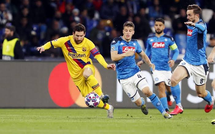 The first leg in Naples ended 1-1. (PHOTO/Courtesy)