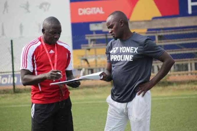 Mbowa (R) was at Proline FC last season. (PHOTO/Courtesy)